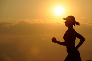 Outdoor running or hiking is time for you